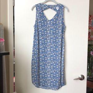 NWT Gap floral shift dress